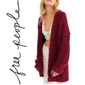 NWT Free People High Hopes Cardigan Sweater